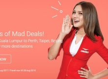 AirAsia 7 Days Mad Deals Promotion