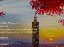 AirAsia Colours of Autumn Promo