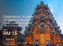 AirAsia 16 Years of Celebration Promo 2017