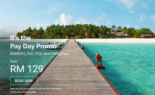 AirAsia Payday Promotion 2018