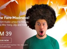 AirAsia Low Fare Madness Promotion