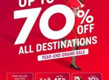 airasia year end grand sale 2019
